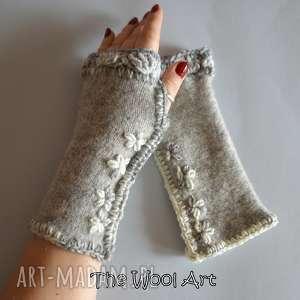 rękawiczki mitenki - rękawiczki, mitenki, nadłonie, prezent