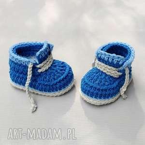 buciki kingston, buciki, niemowlęce, prezent, dziergane, oryginalne, wełniane