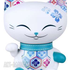 Prezent figurka mani lucky cat orient 11cm, manilacky, kimmidoll, szcaęście, kotek
