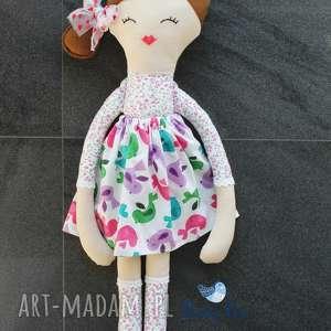 ogromna lalka, 75 centymetrów, kwiatowa panienka, laleczka szmacianka, lala, lalka