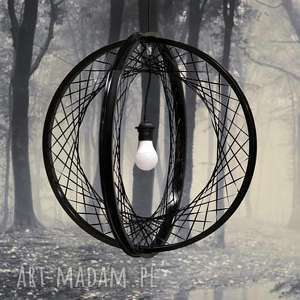 Prezent Lampa wisząca Globe black, okrągła, żyrandol, kula, lampa, prezent