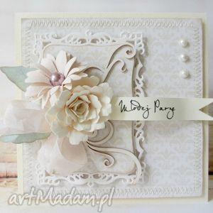 młodej parze, ślub, życzenia, gratulacje, kwiaty, pastelowa