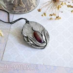 hand-made wisiorki elficki wisior z agatem