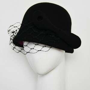 Kapelusz retro ozdoby do włosów fascynatory kapelusz, retro