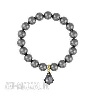 bransoletka z pereł - earth energy - święta, kryształek
