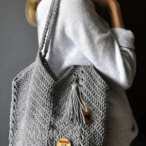 The Wool Art: sznurkowa torebka