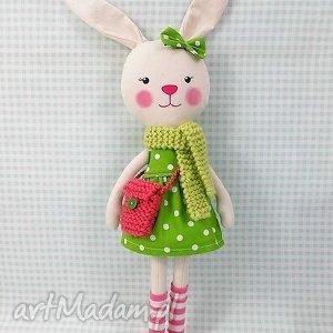 krÓliczka martynka - króliczka, zabawka, przytulanka, prezent, niespodzianka