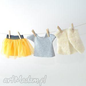 ręczne wykonanie lalki ubranka dla pani patrycji