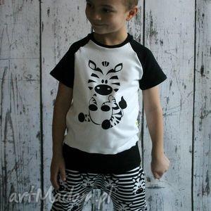 Bluzka, T-shirt zebra (98-140), bluzka, bluzeczka, shirt, pandy
