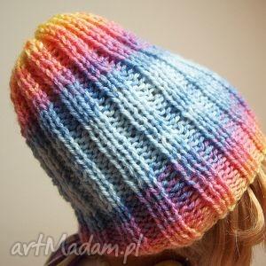 wesoła czapula, czpaeczka, wesoła, kolorowa, jesienna, rozciągliwa, wyjątkowa