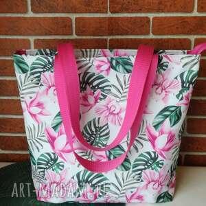 ręczne wykonanie na ramię torebka damska wodoodporna shopper bag do ręki torba handmade