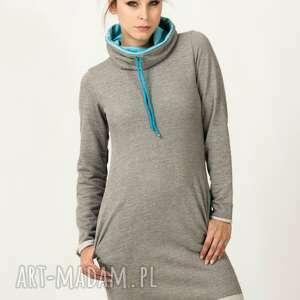 sukienki sukienka sportowa kaja-4, modna, wygodna, sportowa, elegancka, ciepła