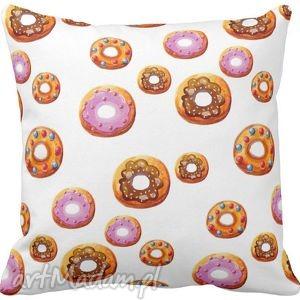 Poszewka na poduszkę dziecięca lukrowane ciasteczka cupcake 3033, poduszka,