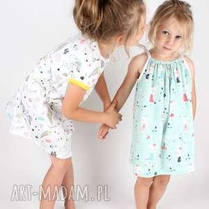 Sukienka z kotkami, sukienka, dziecko, kotki, lato, wakacje