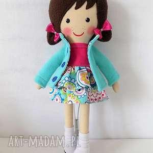 Prezent MALOWANA LALA ANETKA, lalka, zabawka, przytulanka, prezent, niespodzianka