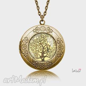 sekretnik klimt tree of life - reprodukcja, drzewo, życie, rodzina, harmonia, grafika