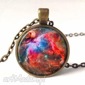 orion nebula - medalion z łańcuszkiem, prezent, gwiazdy, galaxy