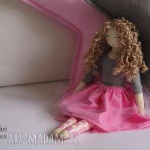lalka #115, lalka, szmacianka, przytulanka, zdejmowaneubranka, tilda, tiul lalki