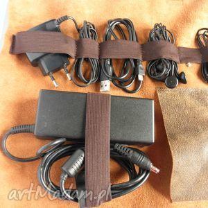 etui na ładowarki, kable, przewody, słuchawki, etui, skóra, vintage, ładowarka