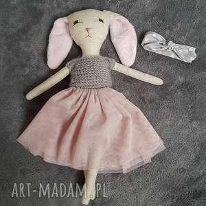świąteczny prezent, tilda króliczek lala, lalka, królik, dziewczynka, ozdoba