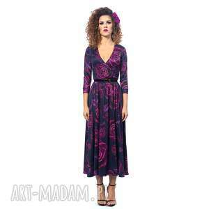 Brigitte - magic rose sukienki milita nikonorov elegancka