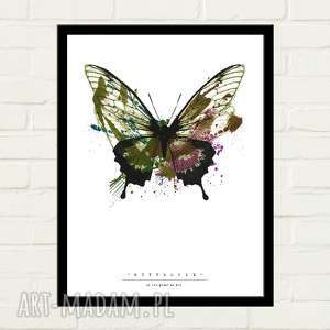 Butterfly painted plakat 70x100 plakaty gau home