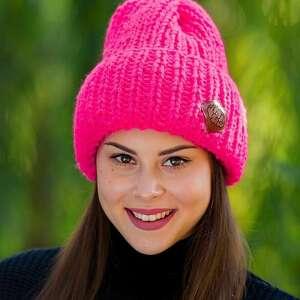 Lucky różowa żarówka czapki brain inside czapka, zimowa