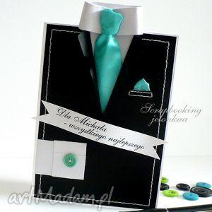 jelonkaa garnitur męski - zestaw dla pani pauliny, mężczyzna, garnitur, krawat