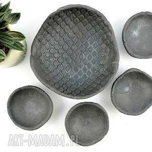 Zestaw misek ceramicznych ceramika polepione miska, talerz