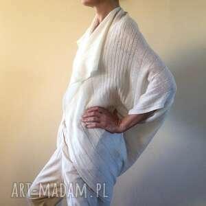 wełniany kardigan w kształcie kokonu, kardigan, sweter, kokon, kamizelka