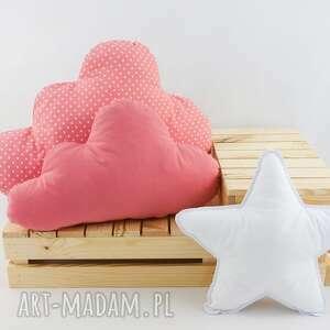 handmade pokoik dziecka zestaw 3 poduch skandynawski róż