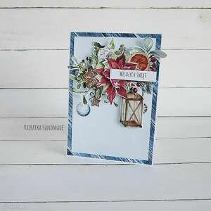 vairatka-handmade kartka świąteczna 738