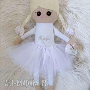lalki szmaciana lalka z personalizacją na chrzest, szmacianka, szmaciana, szyta