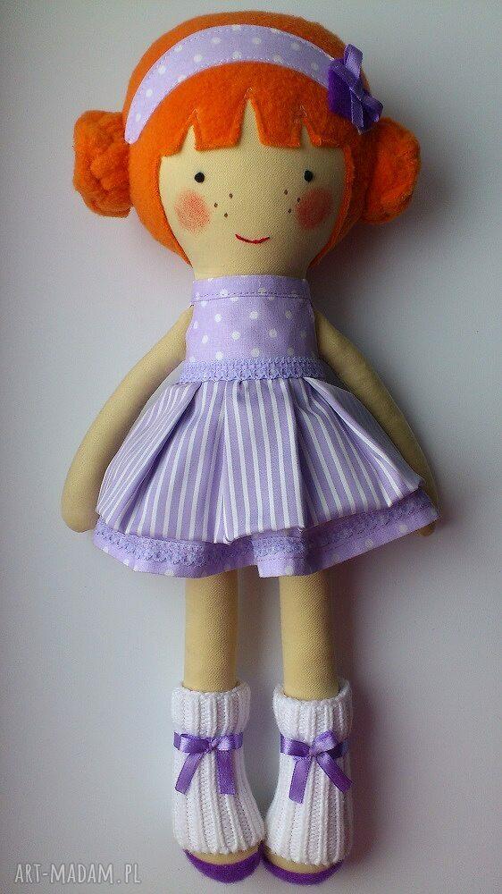 fioletowe lalki zabawka laleczka martynka
