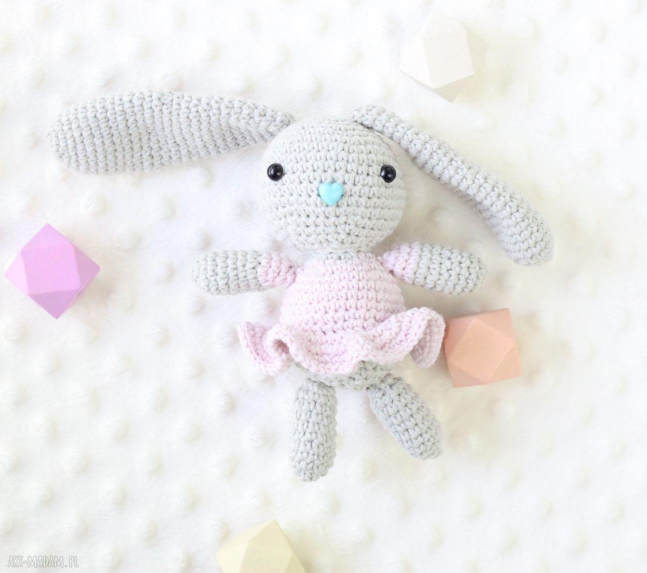 hand made zabawki króliczek zosia