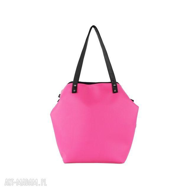 różowe na ramię fuksja torba worek waterproof