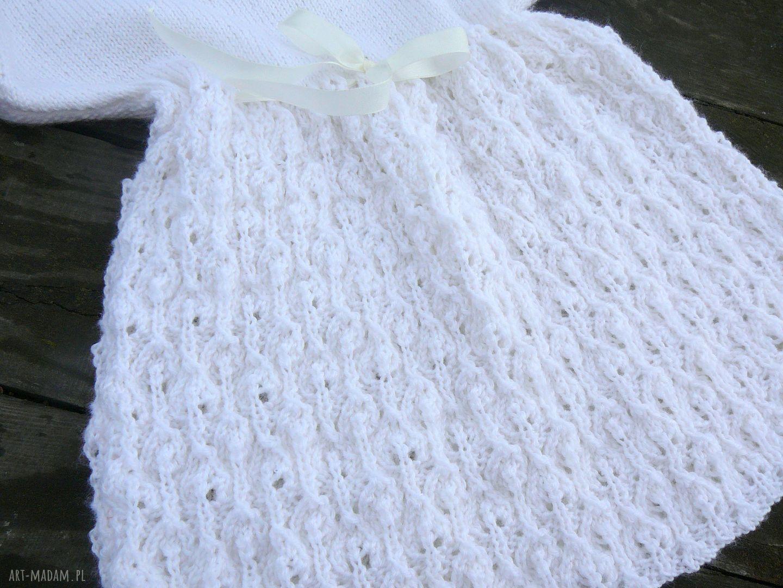 ręcznie robione ubranka sukienka sukieneczka zosia