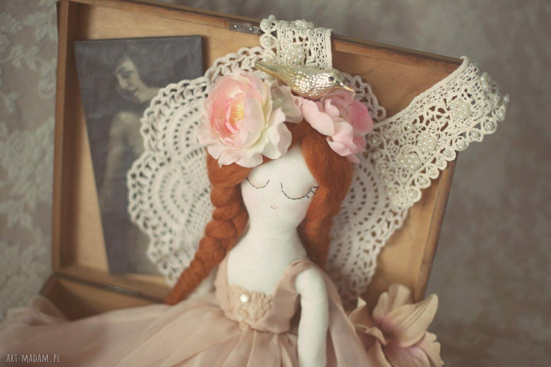 złote lalki wróżka lalka aida - panna z innej epoki