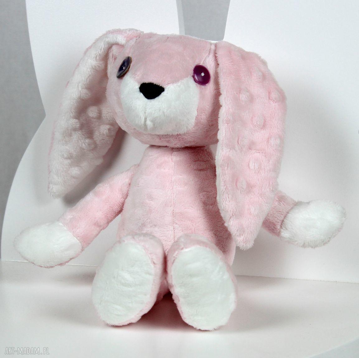 hand-made maskotki króliczka mimi
