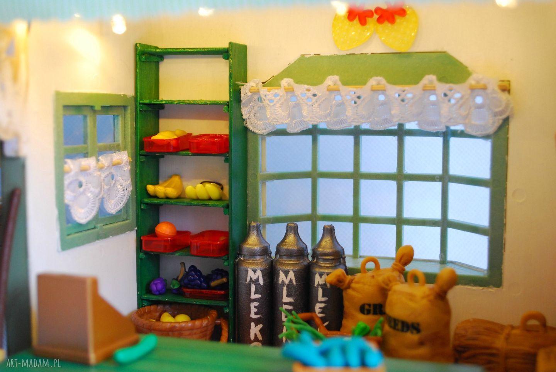 zabawki sklep domek dla lalek