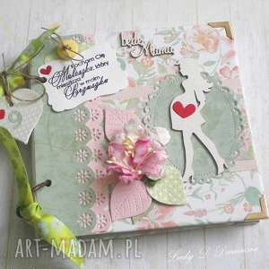 notes / pamiętnik ciążowy/ będę mamą, ciąża, maluszek, dziewczynka, mama