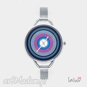 Prezent Zegarek z grafiką PEACE MANDALA, bransoleta, mandala, symbol, harmonia, zen