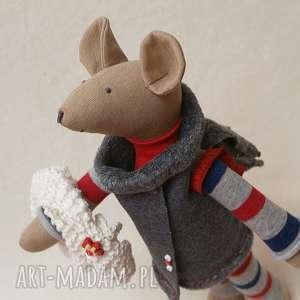 Żona Strażaka , mysz, szczur, roczek, zwierzątka, futerko, szalik