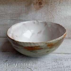 oryginalna prosta misa, miska ceramiczna, przaśna, na prezent