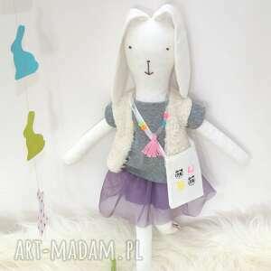 ręcznie zrobione lalki klara zajączek wielkanocny