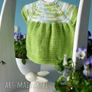 Wiosenna sukienka dla lalki - hand-made