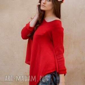 prezent na święta, sweter asymetryczny, damski, asymetryczny