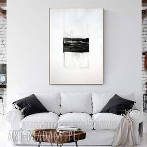 obraz malowany 70 x 100 cm, duża abstrakcja , duże-obrazy, abstrakcja-do-salonu