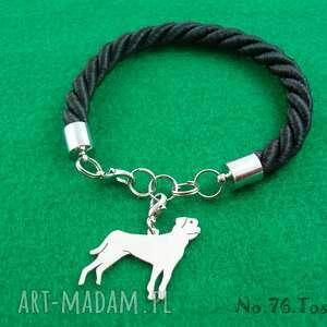 Bransoletka tosa inu pies nr.76, bransoletka, pies, rasy-psów, rękodzieło, tosa-inu