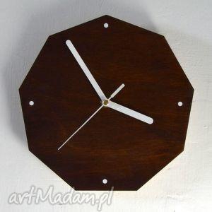 zegar wood clock, zegar, vintage, prezent, dom, drewniany, drewno dom